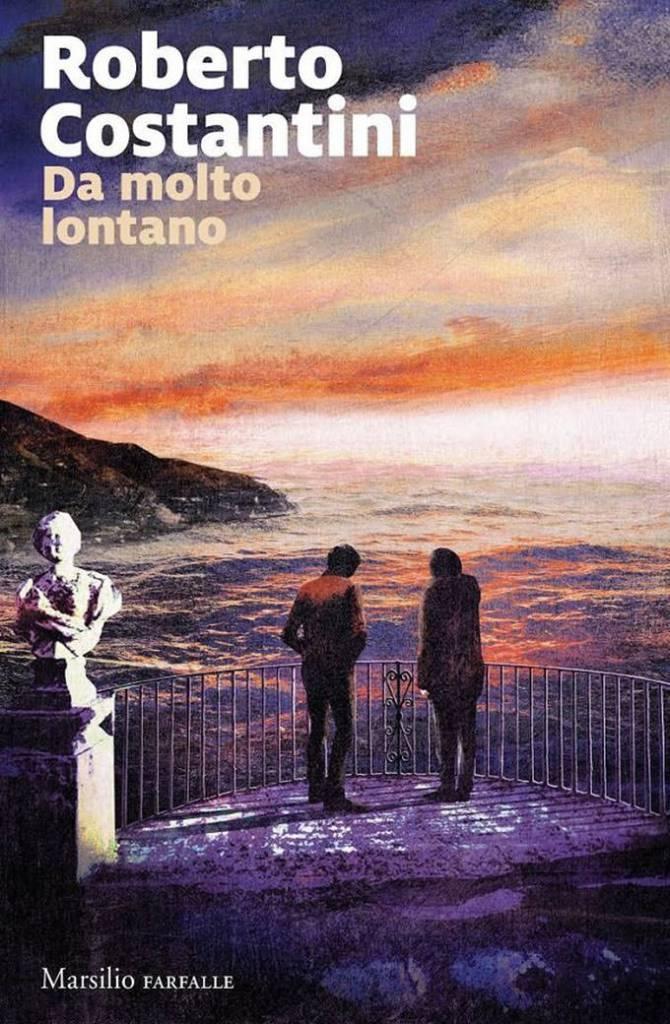 """Copertina """"Da molto lontano"""" di Roberto Costantini"""
