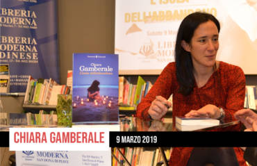 Chiara Gamberale incanta i lettori della Libreria Moderna