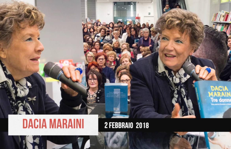 Tre generazioni di donne a confronto con Dacia Maraini