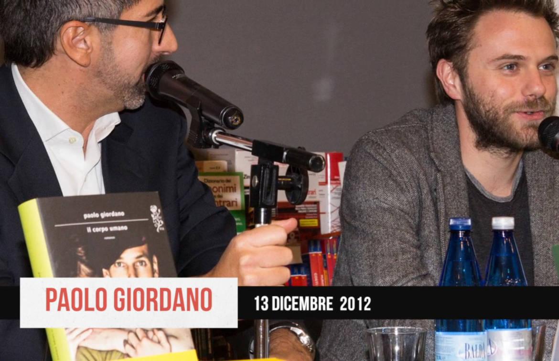 Paolo Giordano presenta Il corpo umano