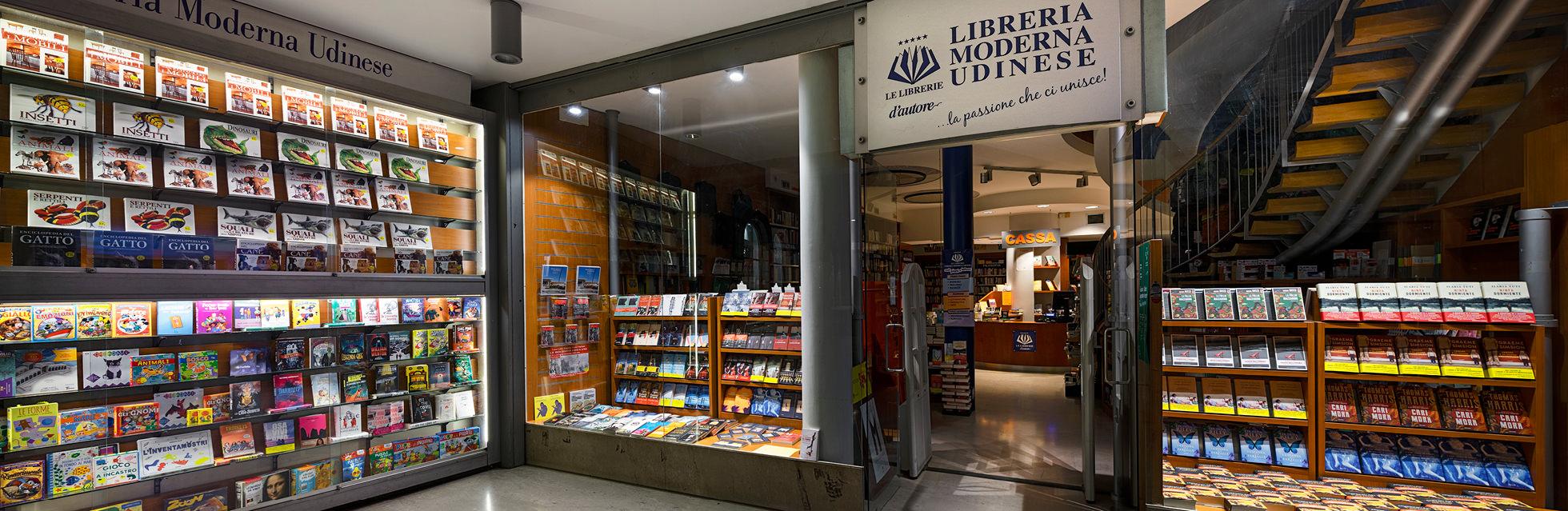 Ingresso della Libreria Moderna Udinese
