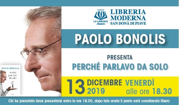Paolo Bonolis alla Libreria Moderna a San Donà di Piave