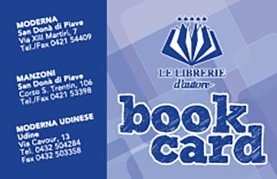 Book Card delle Le Librerie d'Autore