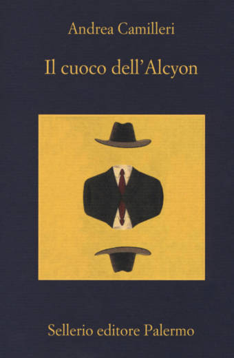 """Copertina del """"Il Cuoco dell'Alcyon"""" di Camilleri"""