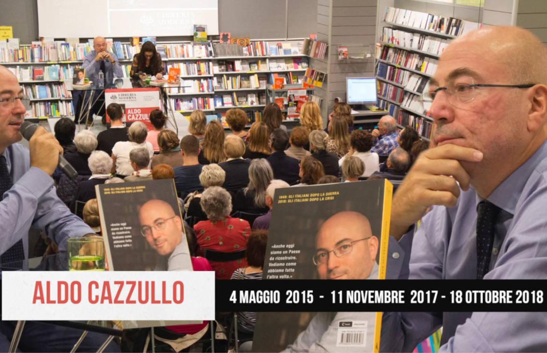 Capire il presente ricordando il passato con Aldo Cazzullo