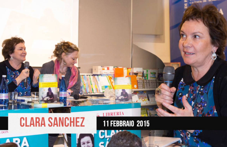 Clara Sanchez: ogni romanzo un successo