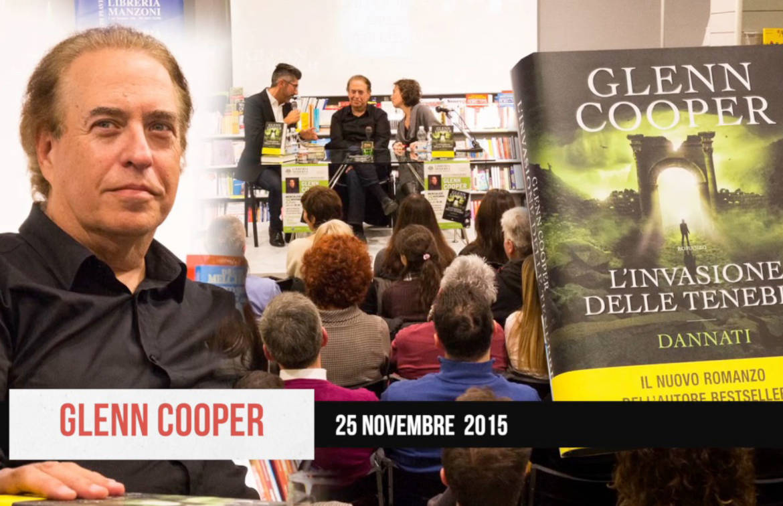 L'eclettico Glenn Cooper alla Libreria Moderna
