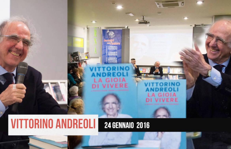 Vittorino Andreoli spiega la <em>gioia di vivere</em>