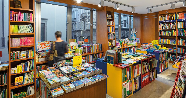 Libreria Moderna Udinese - Area dedicata ai Bambini