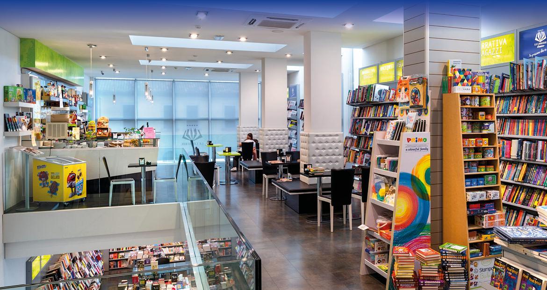 Libreria Moderna San Donà - Vista dell'area relax