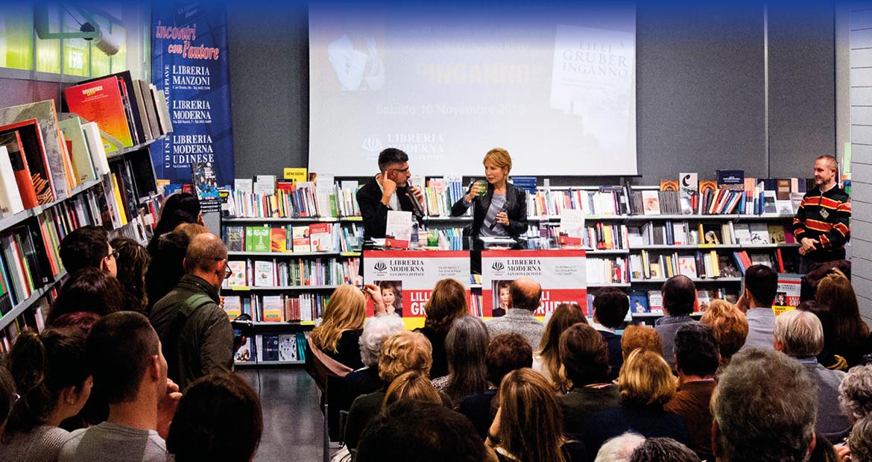 Lilly Gruber alla Libreria Moderna San Donà