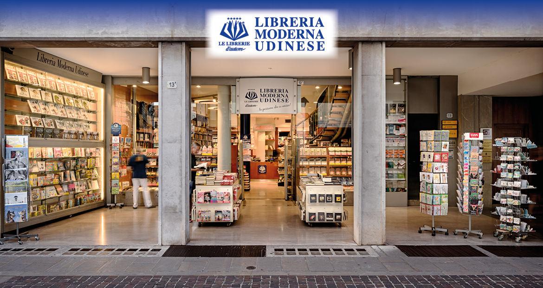 Esterno della Libreria Moderna Udinese