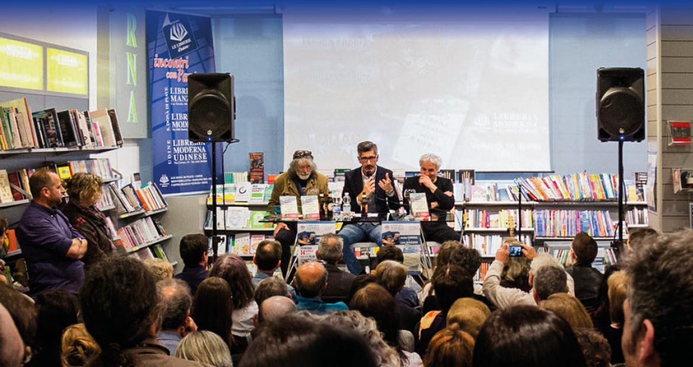 Mauro Corona alla Libreria Moderna San Donà
