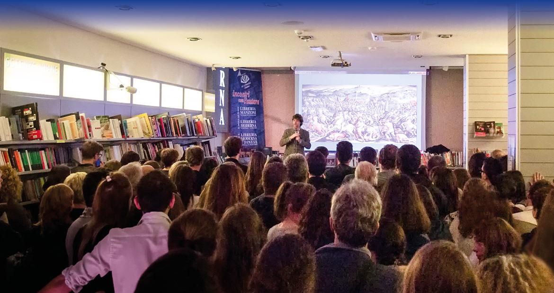 Albreto Angela alla Libreria Moderna San Donà di Piave