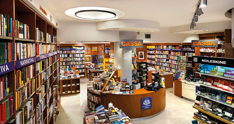 Libreria Moderna Udinese - Vista del piano terra