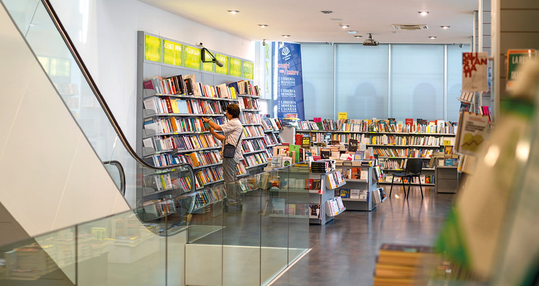Libreria Moderna San Donà di Piave - Scorcio del primo piano