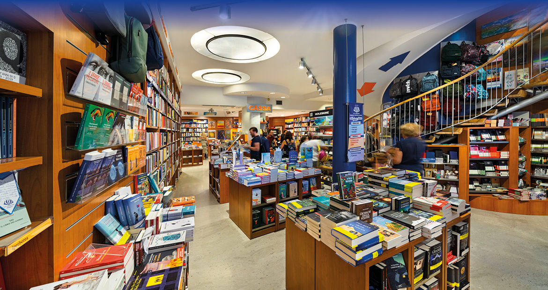 Libreria Moderna Udinese - Vista della sala perinciaple