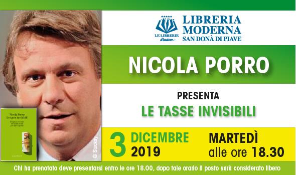Nicola Porro alla Libreria Moderna San Donà di Piave